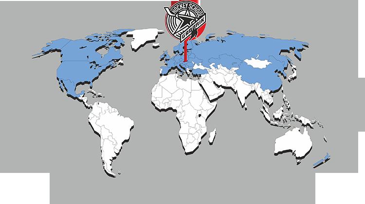 Mapa účastníkov hokejovej školy Mariána Gáboríka