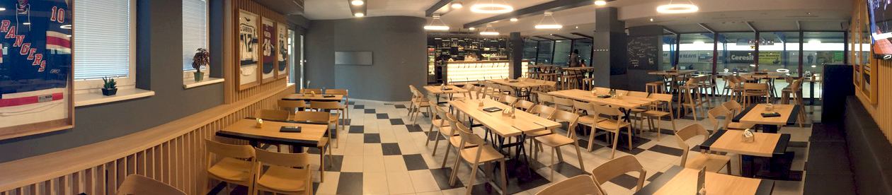 MG Rink - reštaurácia
