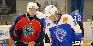 Hockey school for amateurs of Marian Gaborik - Training process